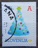 Poštovní známka Slovinsko 2017 Vánoční stromeček Mi# 1273