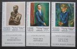 Poštovní známky Izrael 1974 Umění Mi# 609-11