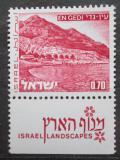 Poštovní známka Izrael 1972 Mrtvé moře Mi# 533