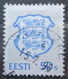 Poštovní známka Estonsko 1993 Státní znak Mi# 205