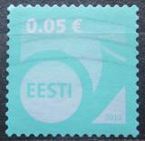 Poštovní známka Estonsko 2013 Poštovní roh Mi# 751