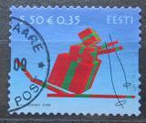 Poštovní známka Estonsko 2008 Vánoce Mi# 627