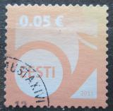 Poštovní známka Estonsko 2011 Poštovní roh Mi# 683