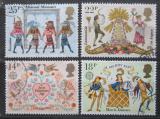 Poštovní známky Velká Británie 1981 Evropa CEPT, folklór Mi# 867-70