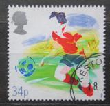 Poštovní známka Velká Británie 1988 Fotbal Mi# 1146