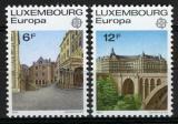 Poštovní známky Lucembursko 1977 Evropa CEPT Mi# 945-46