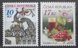 Poštovní známky Česká republika 2008 Pozdravy Mi# 543-44