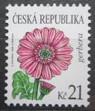 Poštovní známka Česká republika 2008 Gerbera Mi# 549
