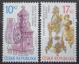 Poštovní známky Česká republika 2008 Historická kamna Mi# 575-76