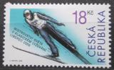 Poštovní známka Česká republika 2009 MS v klasickém lyžování Mi# 587