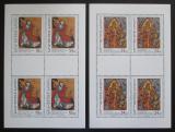 Poštovní známky Česká republika 2009 Asijské umění Mi# 590-91 Bogen