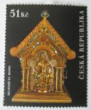 Poštovní známka Česká republika 2009 Relikviář sv. Maura Mi# 592