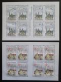 Poštovní známky Česká republika 2009 Krásy naší vlasti Mi# 596-97 Bogen