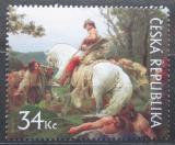 Poštovní známka Česká republika 2009 Umění, František Ženíšek Mi# 616