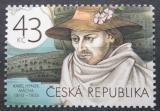 Poštovní známka Česká republika 2010 Karel Hynek Mácha Mi# 624
