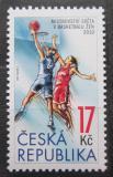 Poštovní známka Česká republika 2010 MS v basketbalu žen Mi# 648