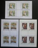Poštovní známky Česká republika 2010 Umění Mi# 660-62 Bogen
