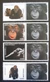 Poštovní známky Sierra Leone 2016 Opice Mi# 8008-11 Kat 11€