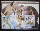 Poštovní známka Guinea-Bissau 2005 Starověký Egypt Mi# Block 519 Kat 16€