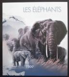 Poštovní známka Burundi 2012 Sloni neperf. Mi# Block 291 B