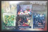 Poštovní známky Burundi 2012 Umění, Paul Cézanne Mi# 2351-54 Kat 10€