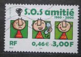 Poštovní známka Francie 2000 Krizová telefonní linka, 40. výročí Mi# 3496