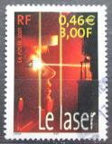 Poštovní známka Francie 2001 Laserová technika Mi# 3564