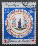 Poštovní známka Francie 1990 Fajáns Mi# 2773