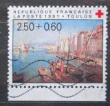 Poštovní známka Francie 1991 Umění, Francois Nardi, Červený kříž Mi# 2867