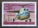 Poštovní známka SSSR 1980 Helikoptéra Mil Mi-6 Mi# 4959