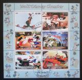 Poštovní známky Mauretánie 2003 Disney postavičky Mi# N/N