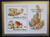 Poštovní známky Guinea 1977 Houby Mi# Block 48 Kat 7.50€
