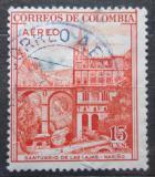 Poštovní známka Kolumbie 1954 Kostel Las Lajas Mi# 672