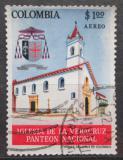 Poštovní známka Kolumbie 1964 Kostel La Veracruz v Bogotě Mi# 1051