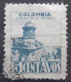 Poštovní známka Kolumbie 1945 Pevnost San Sebastian Mi# 466