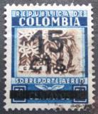 Poštovní známka Kolumbie 1939 Káva přetisk Mi# 399