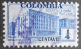 Poštovní známka Kolumbie 1940 Budova pošty, daňová Mi# 8