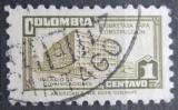 Poštovní známka Kolumbie 1945 Budova pošty v Bogotě, daňová Mi# 29 a