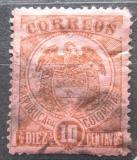 Poštovní známka Kolumbie 1898 Státní znak Mi# 124
