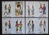 Poštovní známky Adžmán 1971 Napoleonské uniformy Mi# 685-92