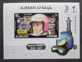 Poštovní známka Adžmán 1971 Ignazio Giunti Mi# 1070 A Block