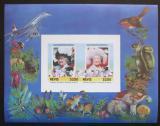 Poštovní známky Nevis 1986 Královna Matka Mi# Block 6