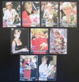 Poštovní známky Guinea 1998 Princezna Diana Mi# 1741-49 Kat 15€