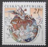 Poštovní známka Česká republika 2011 Světový den pošty Mi# 697