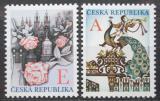 Poštovní známky Česká republika 2011 Pozdravy Mi# 701-02