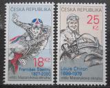 Poštovní známky Česká republika 2012 Legendy Masarykova okruhu Mi# 742-43