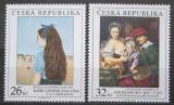 Poštovní známky Česká republika 2012 Umění Mi# 745-46