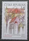 Poštovní známka Česká republika 2013 Klášter Zlatá koruna Mi# 759