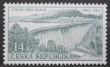 Poštovní známka Česká republika 2013 Vodní dílo Fláje Mi# 763
