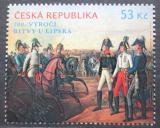 Poštovní známka Česká republika 2013 Bitva u Lipska, 200. výročí Mi# 786